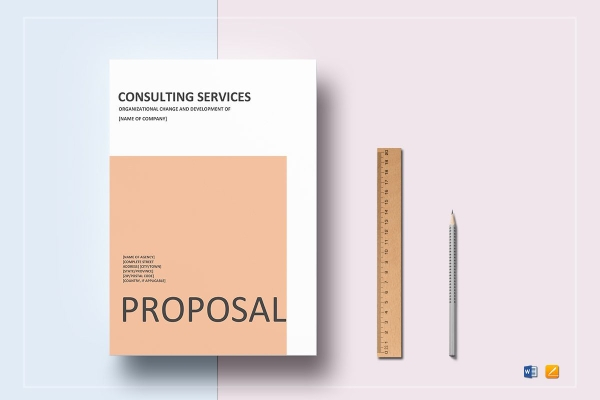 simple consulting services proposal