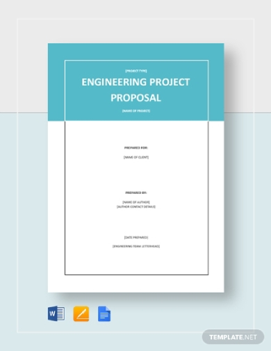 simple engineering project proposal template