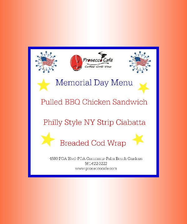 simple memorial day menu