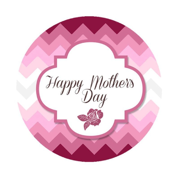 simple mothers day label