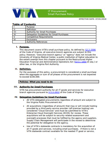 small purchase policy in pdf1