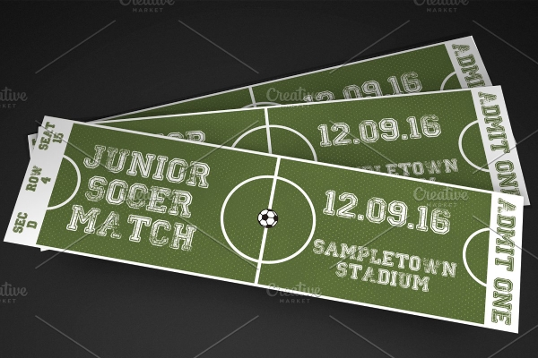 soccer event ticket