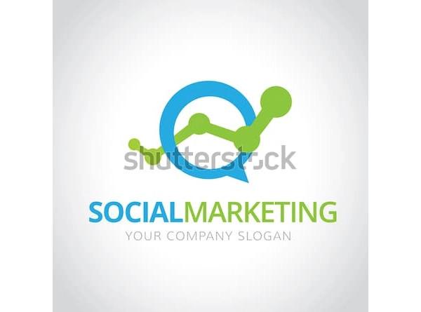 social marketing logo design