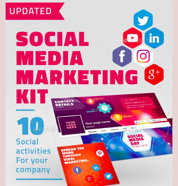 social media marketing kit