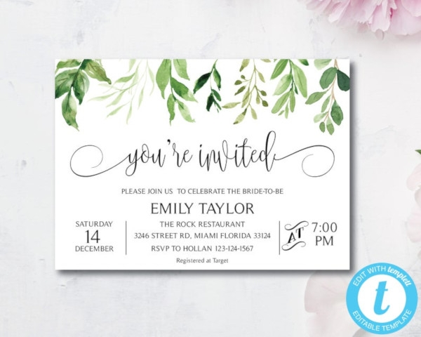 special event invitation template