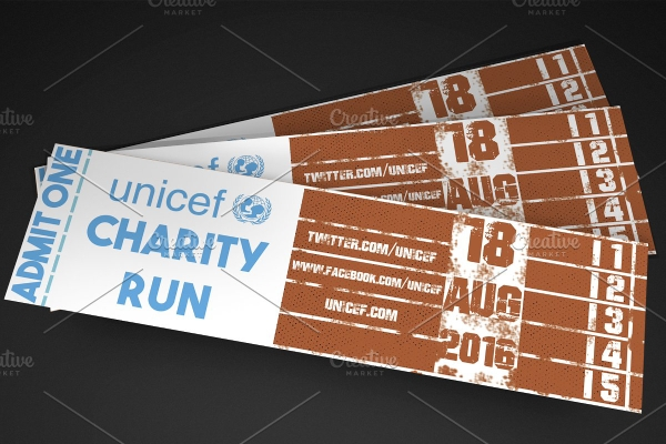 sports event ticket for charity