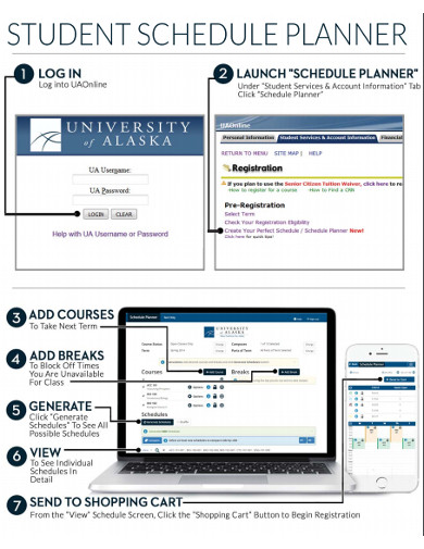 student schedule planner1