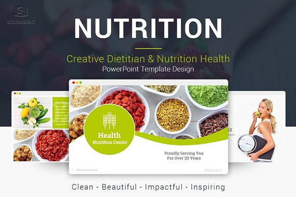top nutrition powerpoint template