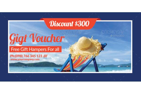Tour Travel Gift Voucher
