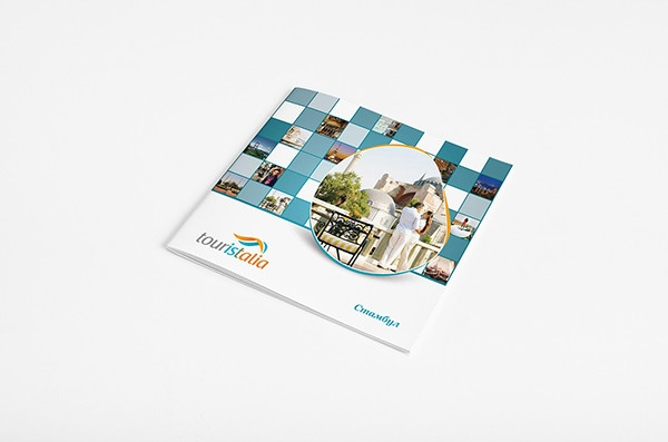 touristalia travel agency catalog design