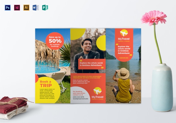 travel agency brochure sample1