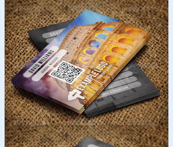 travel business card bundle