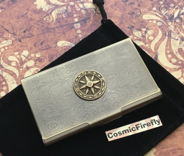 travel business card case