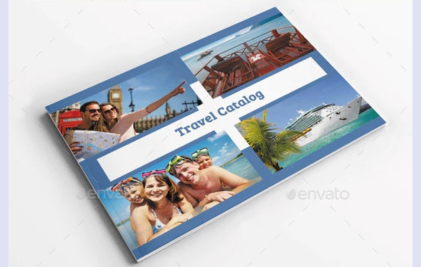 travel catalog brochure templlate