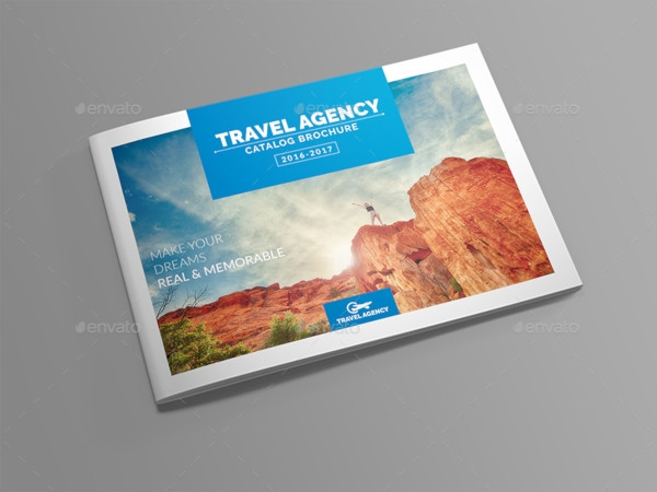 travel catalog brochure