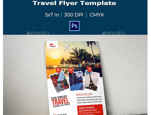 travel flyer example