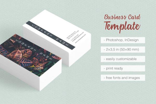 travel photographer business card