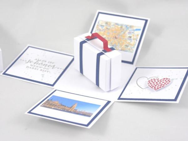 travel voucher gift box