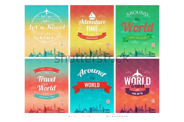 travel brochure flyer