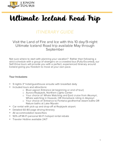 ultimate iceland road trip itinerary