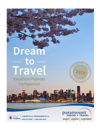 vacation planner companion