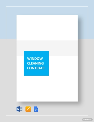 window cleaning business contract