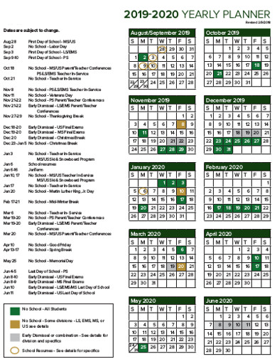yearly planner in pdf