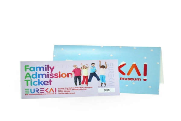 family admission ticket gift voucher