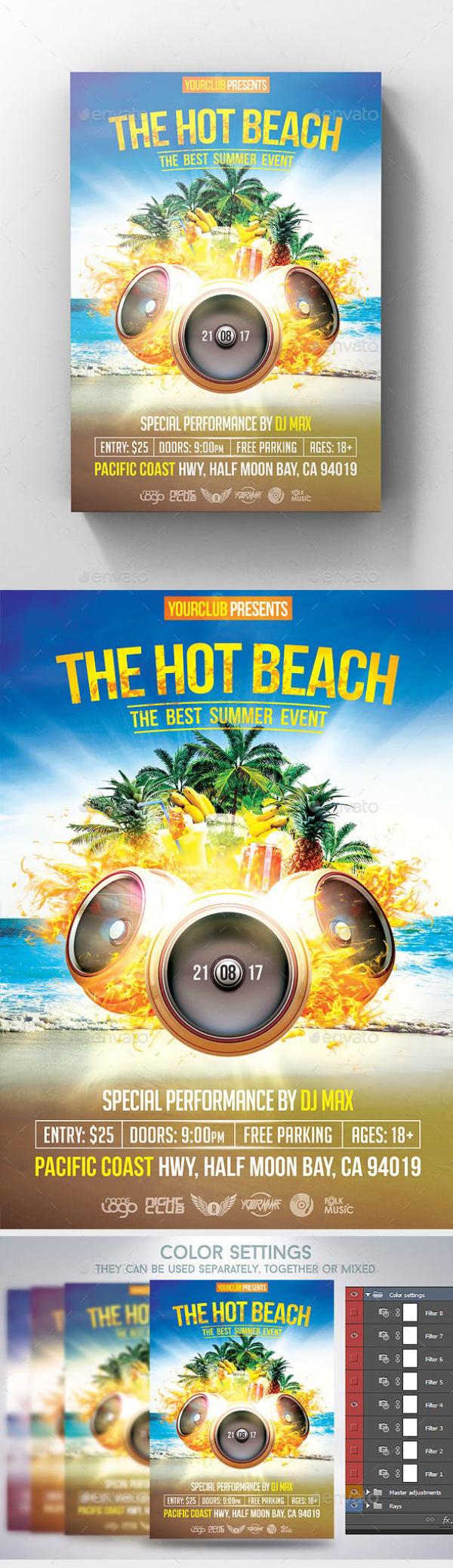 the hot beach flyer