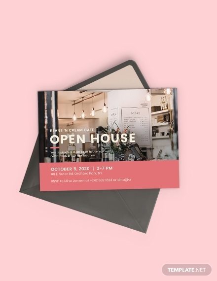10 Best Open House Invitation Examples Templates Download Now