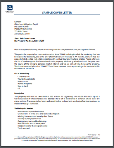 FREE 10 Best Real Estate Cover Letter Examples Download Now
