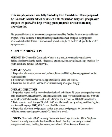 How To Write A Nonprofit Proposal 10 Best Examples
