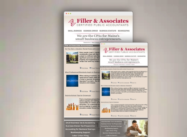 accounting business email newsletter