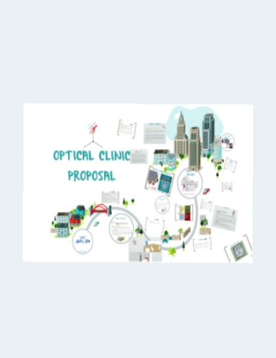 artsy business proposal for optical clinic