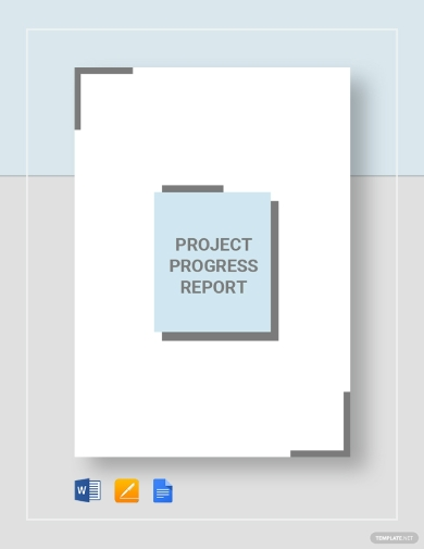 basic project progress report