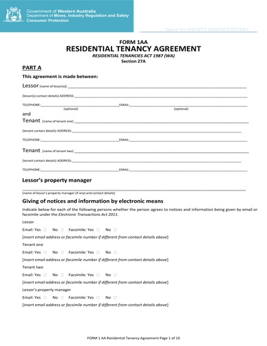 Free 11 Best House Rental Agreement Examples Templates