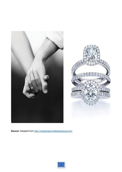 case study analysis the diamond industry