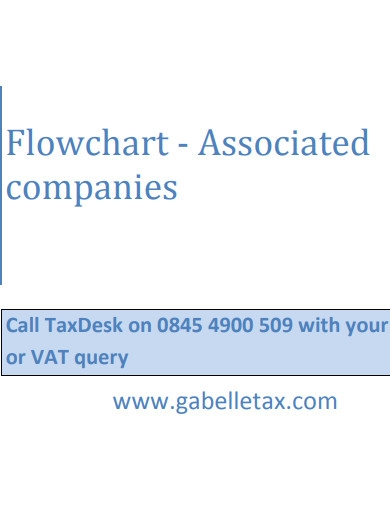 company associated flow chart