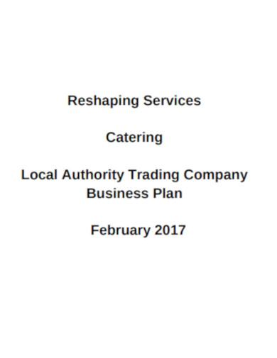 company business plan sample