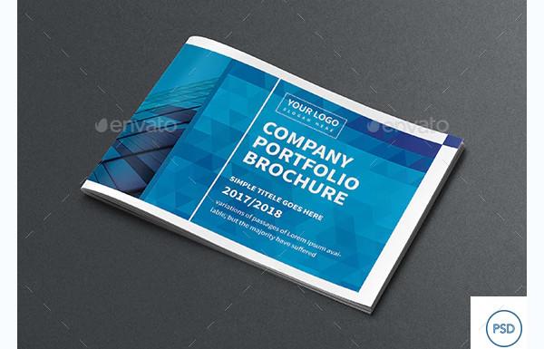 company portfolio brochure