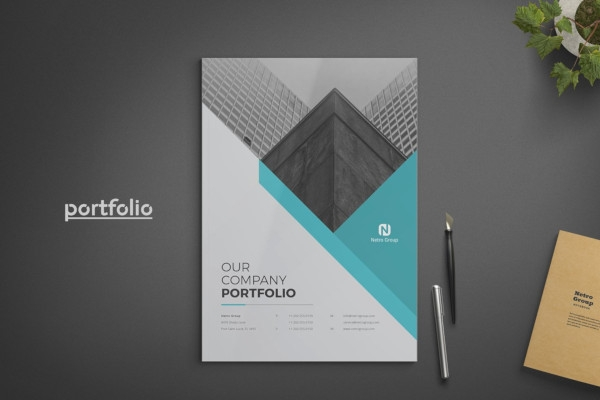 free 10  company portfolio examples  u0026 templates  download now