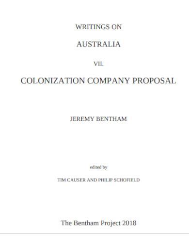 company proposal sample