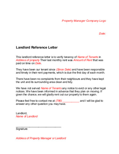 company reference letter in pdf