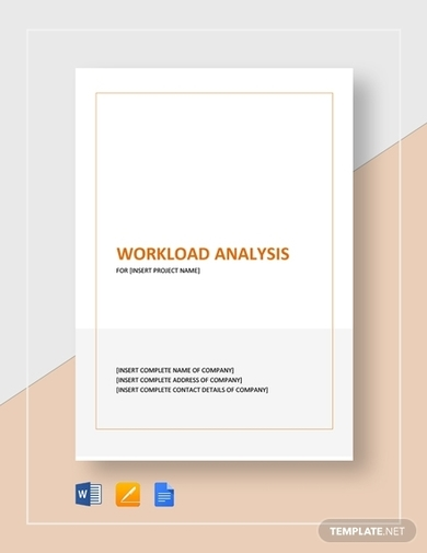 complete workload analysis template