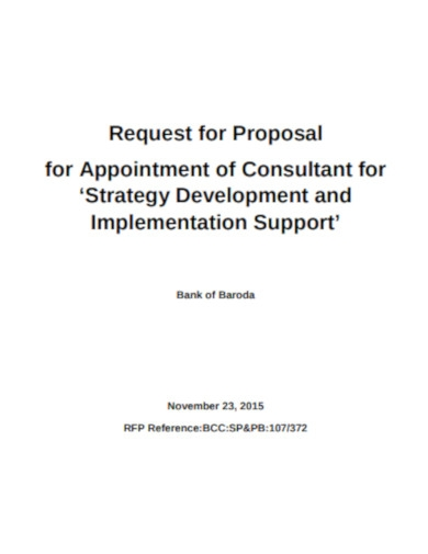 consultancy proposal template in pdf