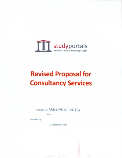 consultancy proposal for services