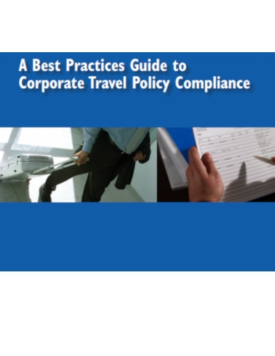 corporate travel policy compliance