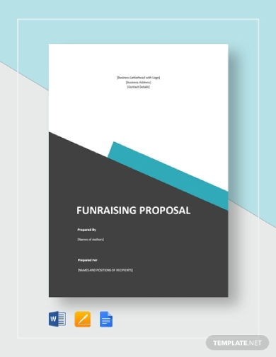 creative fundraising proposal