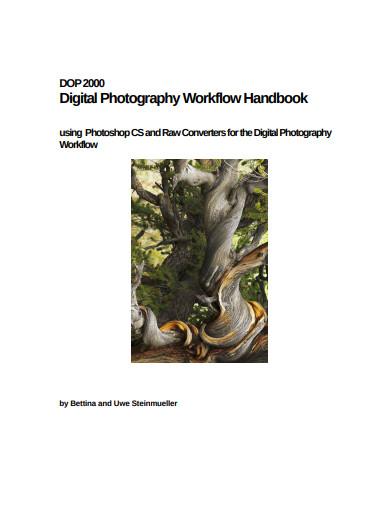 digital photography workflow handbook