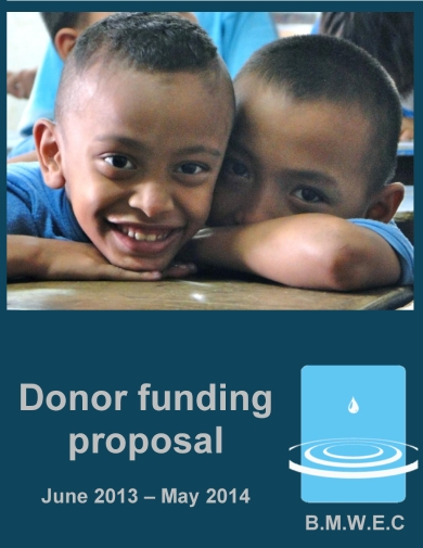 donor funding proposal